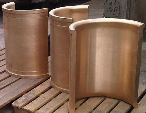 Joseph Grieveson Phosphur-Bronze Mill Bearing liners