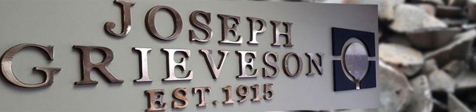 Joseph Grieveson banner